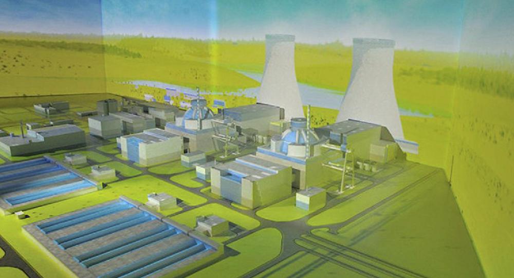 Projeto da usina nuclear de Akkuyu, na província turca de Mersin
