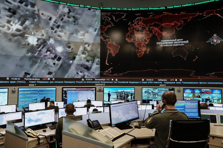 Novo Centro de Controle de Defesa Nacional em Moscou