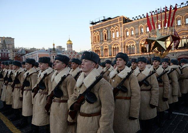 Ensaio do desfile lendário de 1941