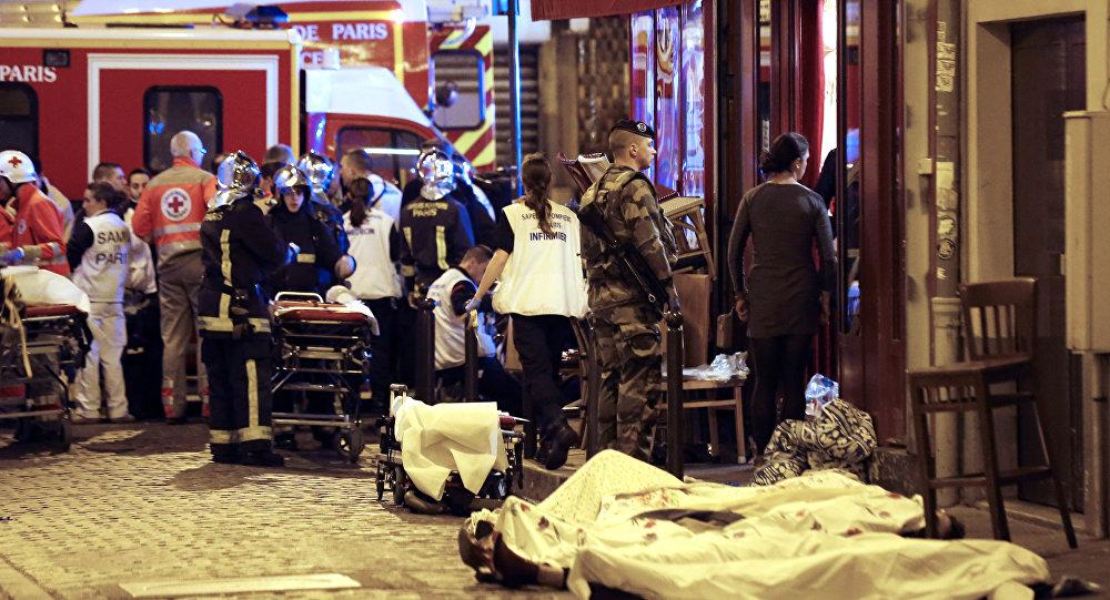 Vítimas dos atentados terroristas em Paris