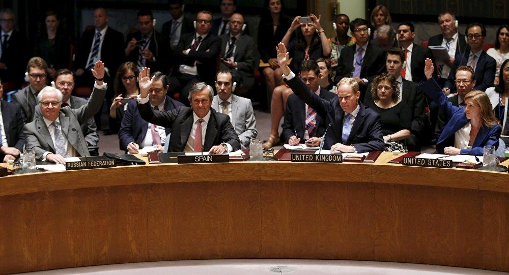 Voto no Conselho de Segurança da ONU