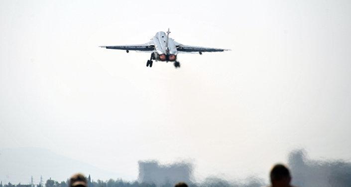 Aviação russa na base Hmeymim, na Síria