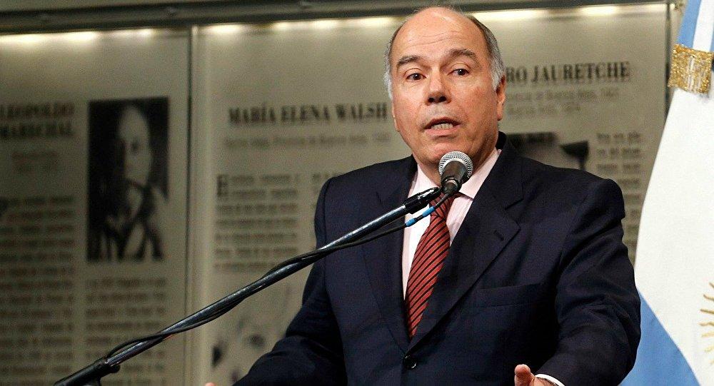 Mauro Vieira, ministro de Relações Exteriores do Brasil