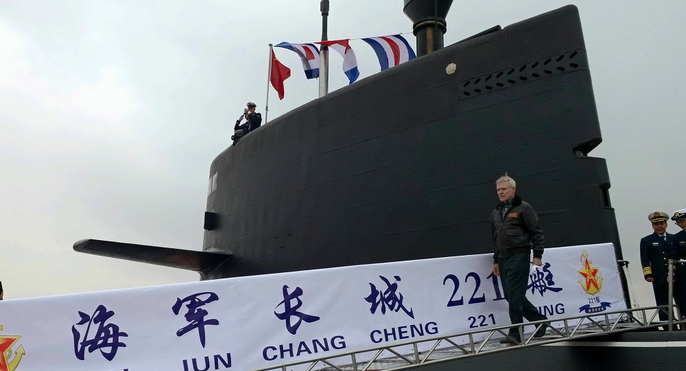 submarino chinês