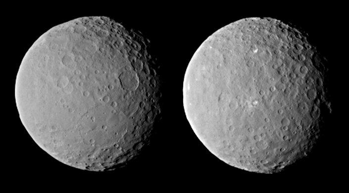Ceres em 19 de fevereiro
