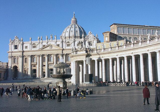 Praça de São Pedro em Roma, Itália