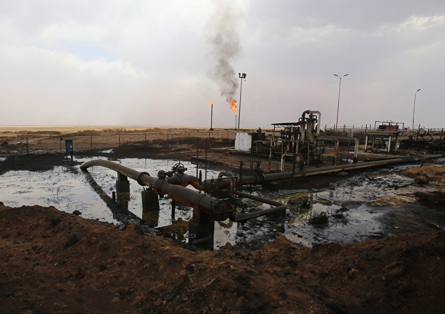 Jazida de petróleo de Rmeilane, na província de Hasakeh, na Síria