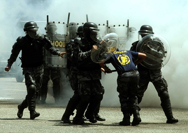 Treinamento de Equipes da Companhia Republicana de Segurança da Polícia Nacional Francesa e do Batalhão de Polícia de Choque da Polícia Militar