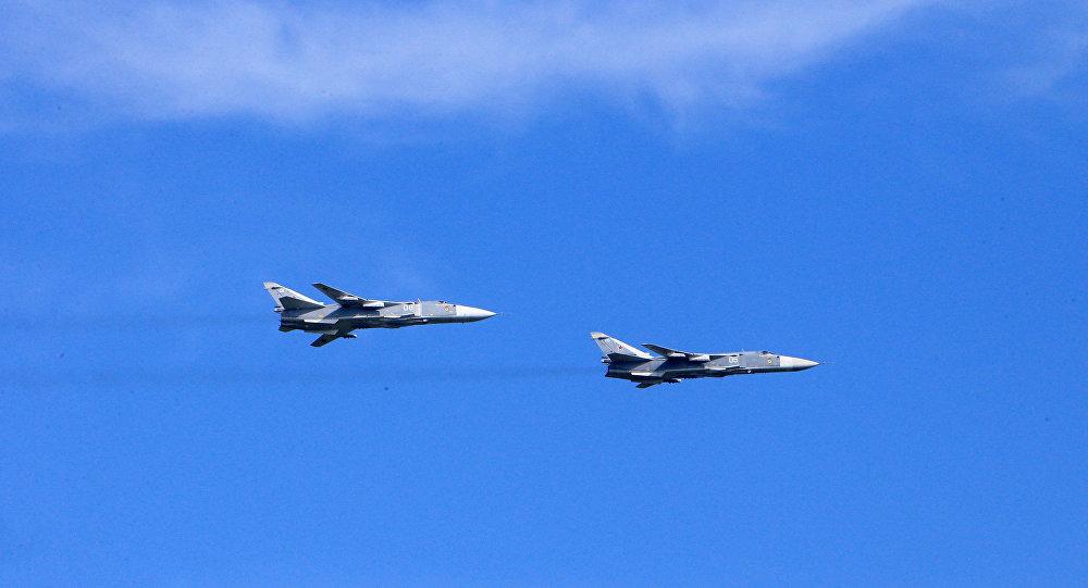 Bombardeiros russos Su-24