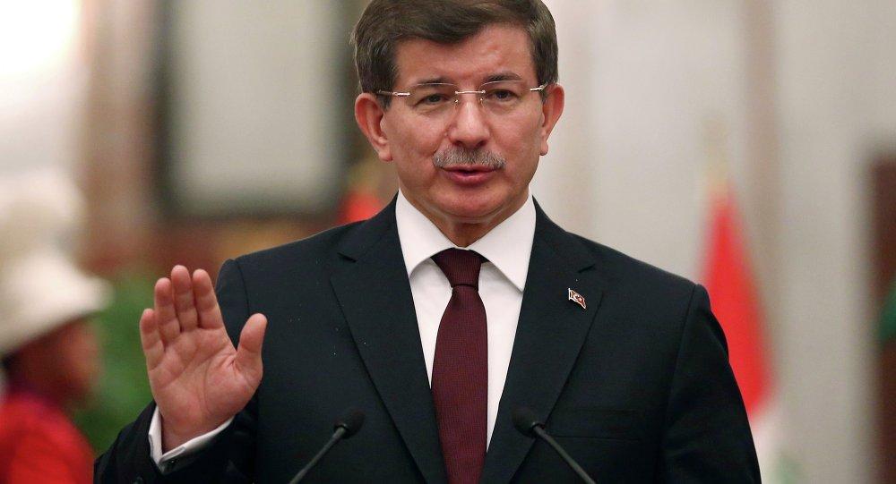 Ahmet Davutoglu, primeiro-ministro da Turquia