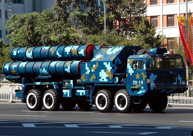 Sistema de defesa antiaérea HQ-9 da China (imagem referencial)