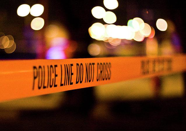 Cordão de isolamento policial