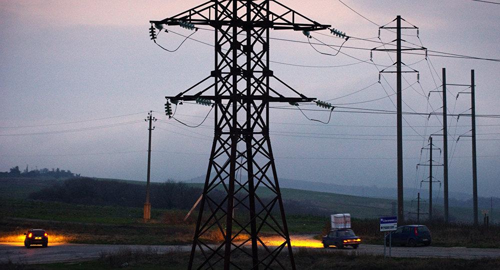 Situação energética atual na Crimeia