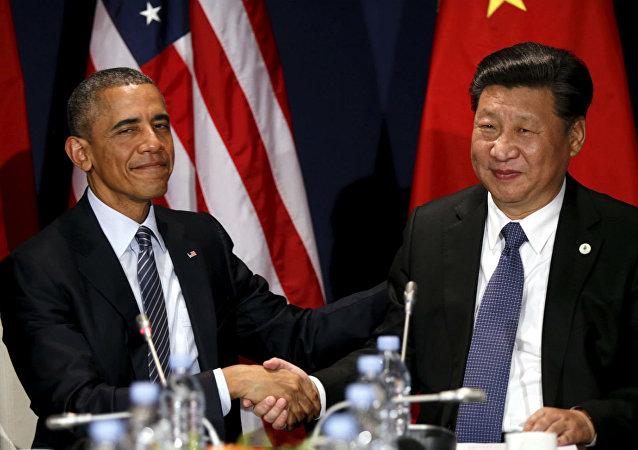 Barack Obama e Xi Jinping se encontraram antes da abertura da COP21.