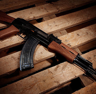 AK-47 (foto de arquivo)