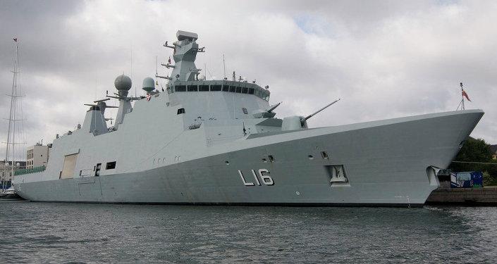 Navio Absalon da marinha dimamarquesa