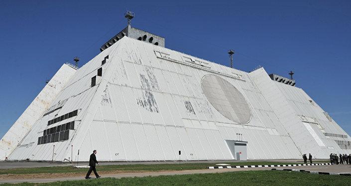 Radar do sistema de defesa contra mísseis de Moscou