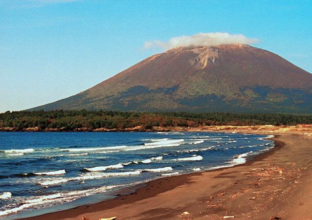 Natureza das ilhas Curilas, no Extremo Oriente da Rússia