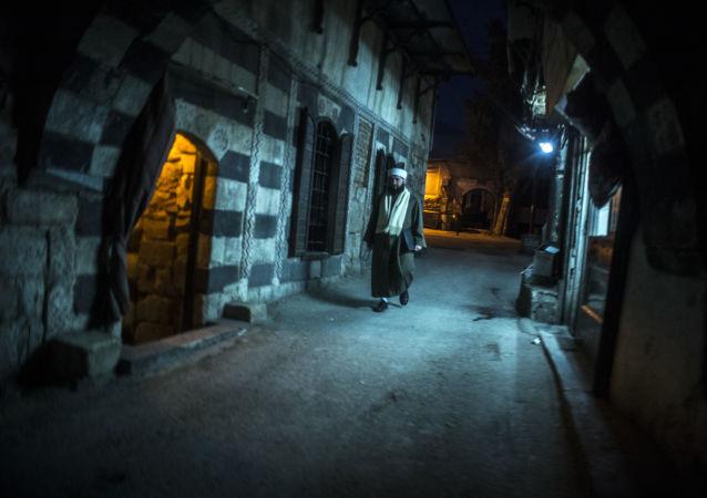 Cidade antiga de Damasco
