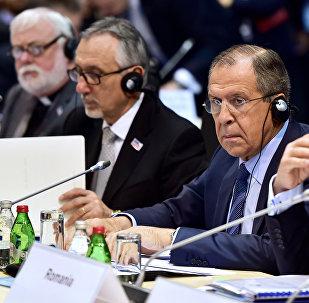 Sergei Lavrov, ministro de Relações Exteriores da Rússia