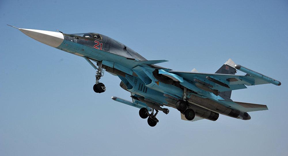 Caça multifuncional russo Su-34