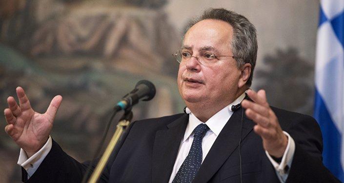 Ministro das Relações Exteriores da Grécia, Nikos Kotzias