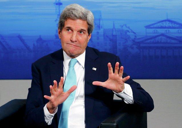Secretário de Estado dos EUA, John Kerry