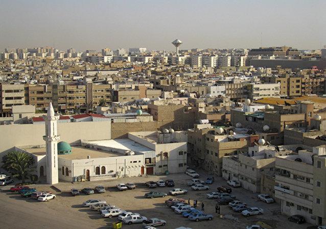 Vista geral de Riad (foto de arquivo)