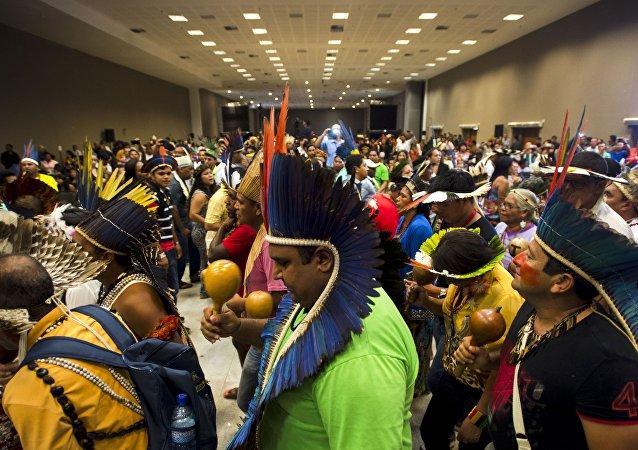 Conferência discute em Brasília 5 mil propostas pelos direitos dos povos indígenas