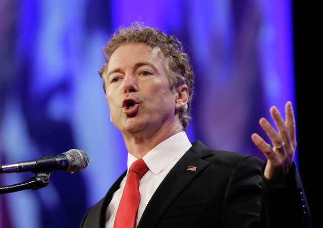 Candidato à presidência norte-americana do partido Republicano, Rand Paul