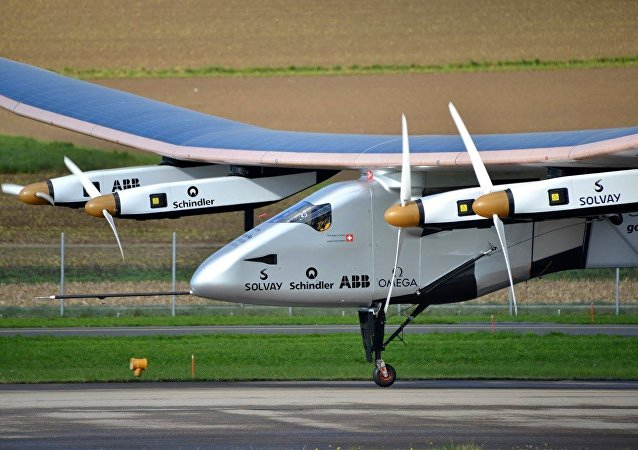 Solar Impulse 2 - avião movido a energia solar