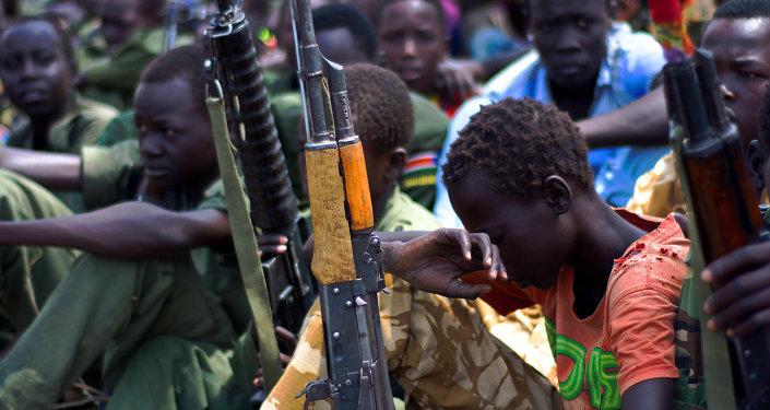 Crianças-soldados do Sudão do Sul