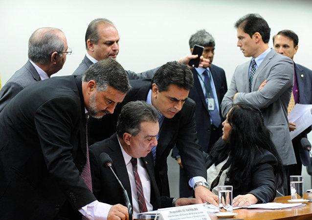 Reunião da Comissão Mista de Orçamento