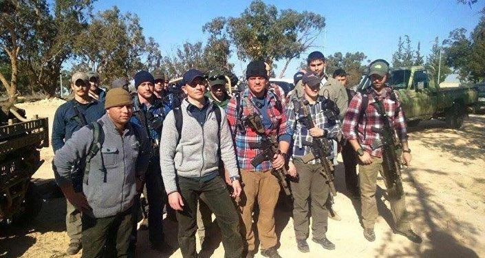 Soldados americanos na Líbia