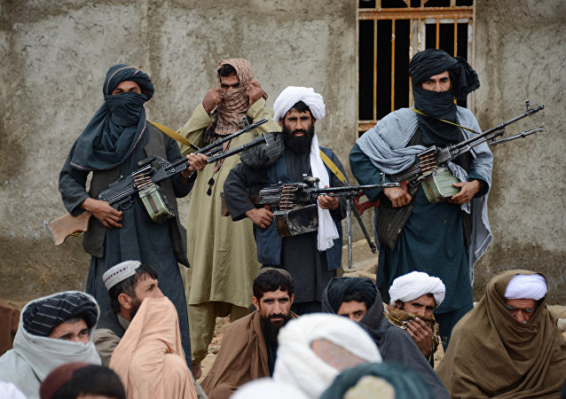 Militantes do Taliban no Afeganistão