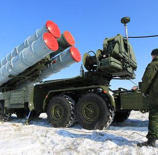 Sistema antiaéreo S-400.