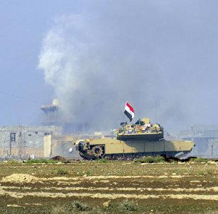 Tanque Abrams do exército do Iraque