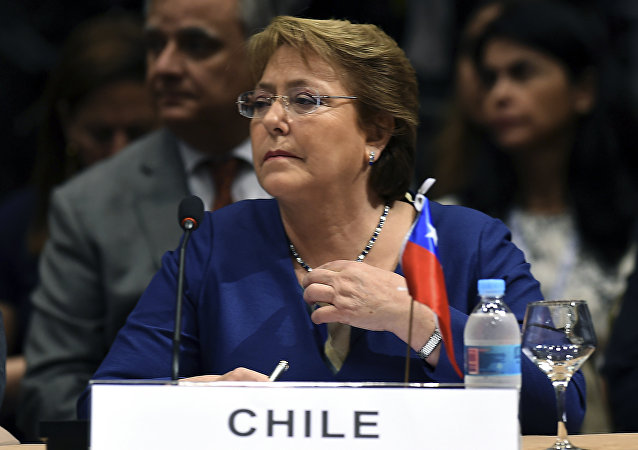 Michelle Bachelet, presidente do Chile