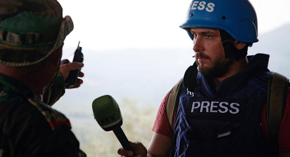 Correspondente do RT faz entrevista na Síria