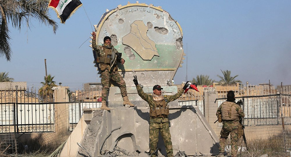 Soldados iraquianos em Ramadi após recuperação da cidade de jihadistas