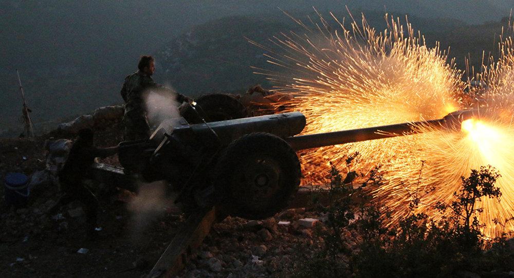 Exército sírio dispara canhão na província de Latakia