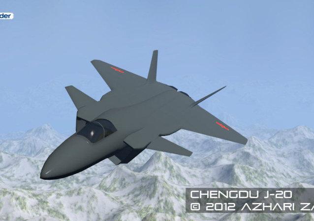 Caça chinês Chengdu J-20
