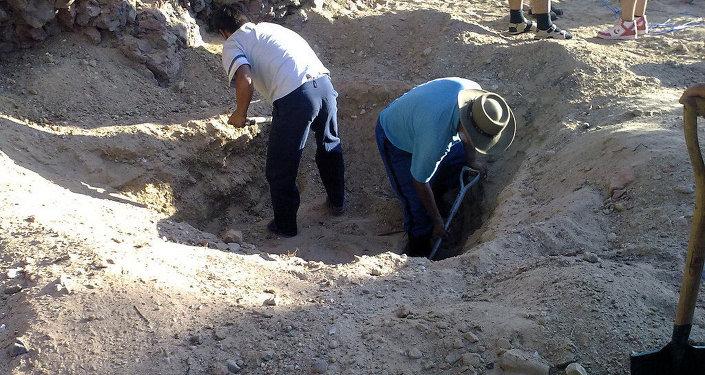 Arqueólogos (foto de arquivo)