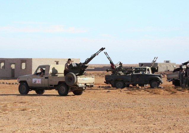 Militares em operação na Líbia
