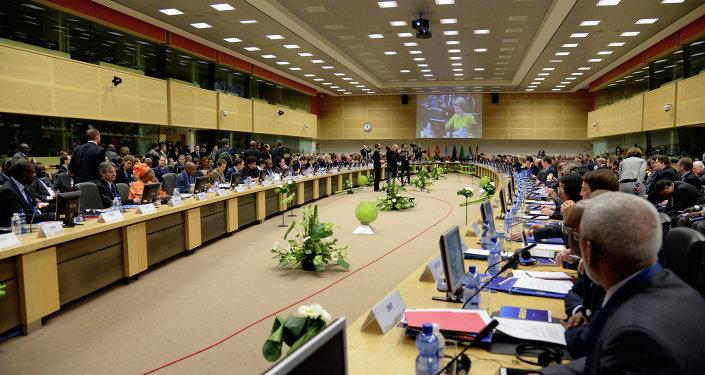 Conferência Internacional sobre o Vírus Ebola em Bruxelas, na Bélgica, 3 de março de 2015