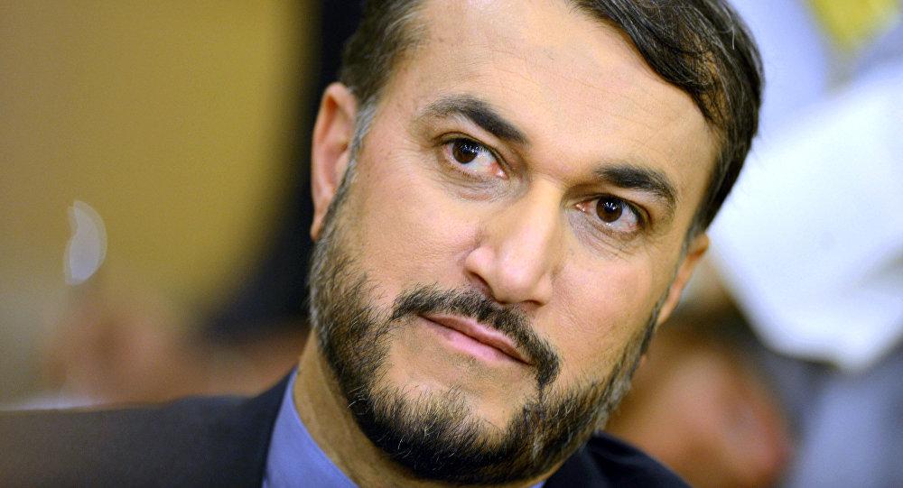 Vice-ministro das Relações Exteriores iraniano, Hossein Amir-Abdollahian