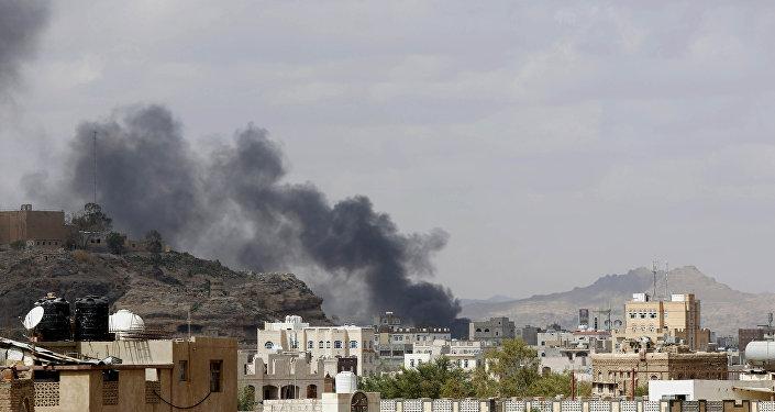 Ataques aéreos sauditas no Iêmen