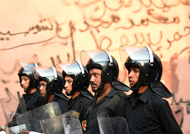 Agentes da polícia do Egito (foto de arquivo)
