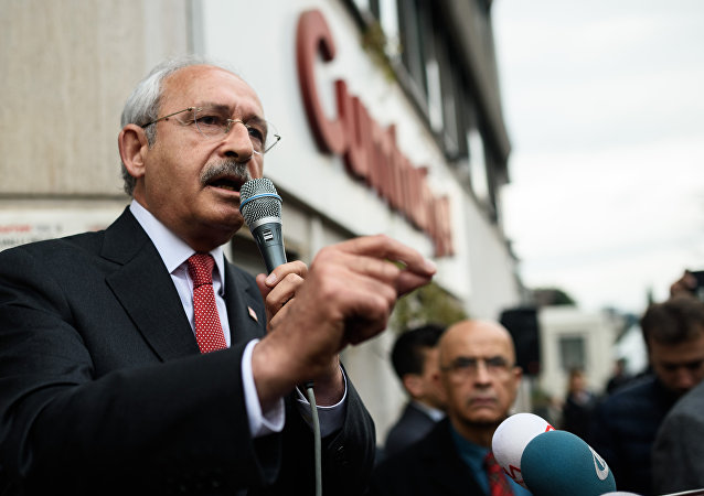 Kemal Kilicdaroglu, líder do Partido Republicano do Povo (Turquia)