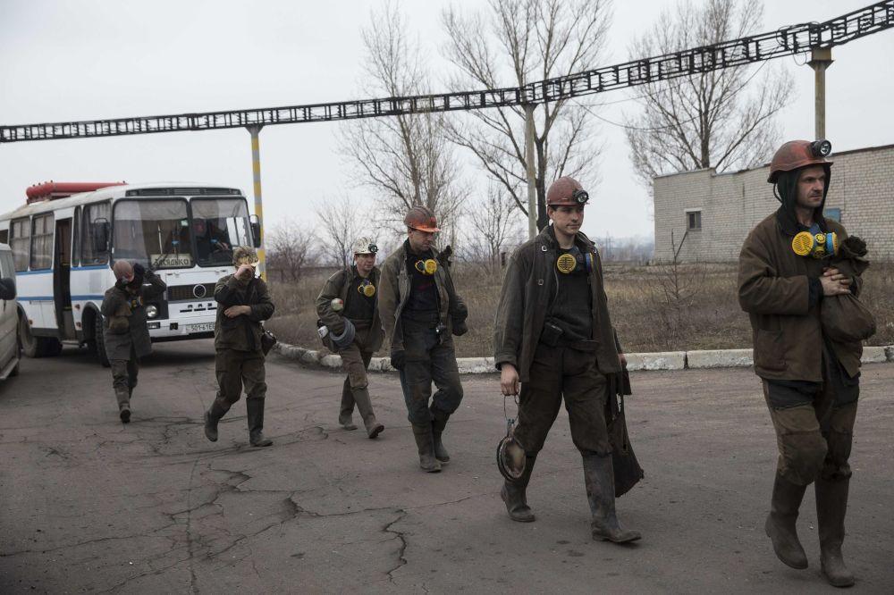 Explosão em mina de carvão de Donetsk